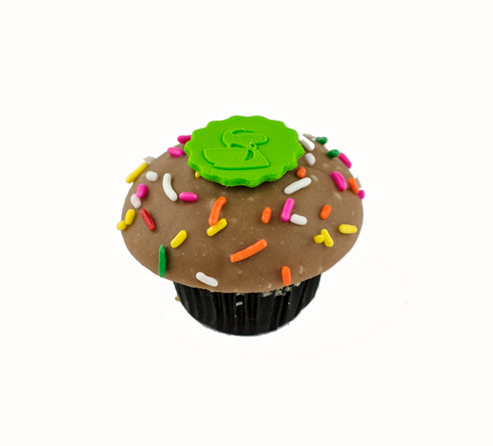 We Bake Our Cupcakes Fresh Daily Shown Old Fashioned Birthday Cake